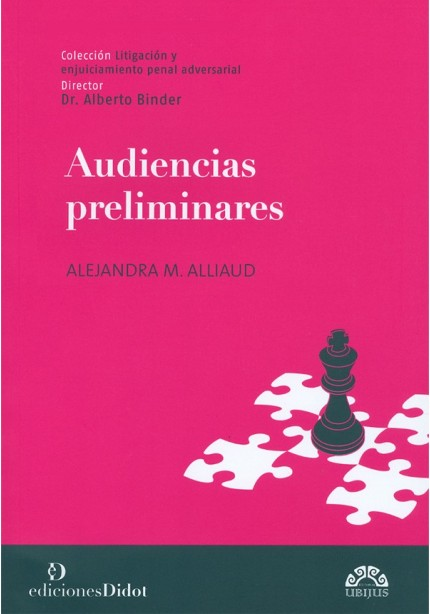 AUDIENCIAS PRELIMINARES
